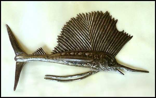 metal fish art wall decor.htm metal fish wall art sealife haitian metal art designs  metal fish wall art sealife haitian