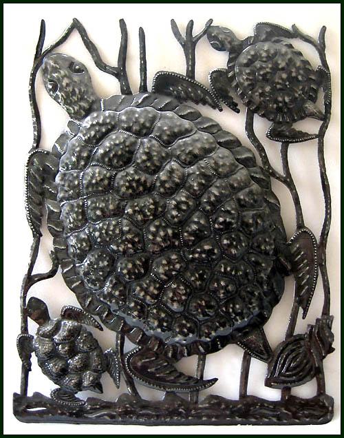metal turtle wall decor.htm metal fish wall art sealife haitian metal art designs  metal fish wall art sealife haitian